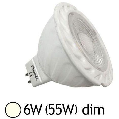 Ampoule LED GU5.3 - 6W COB 80° Dimmable