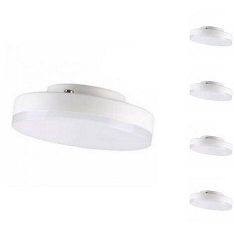 Ampoule LED GX53 7W (Pack de 5) - Blanc Froid 6000K - 8000K