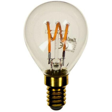 Ampoule LED (P45) / Vintage, culot E14, 4W cons. (18W eq.), 180 lumens, lumi�re blanc chaud