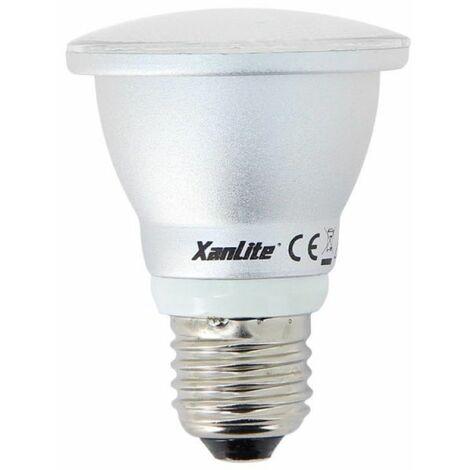 Ampoule LED PAR20, culot E27, 7W cons. (55W eq.), lumière blanc neutre | Xanlite