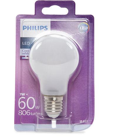 Ampoule LED Philips E27 A60 7W 806Lm Blanc Neutre   Blanc Neutre (PH-8718696703335-W)