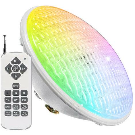 Ampoule LED Piscine PAR56 Couleur RGB 35W avec 441 LEDs