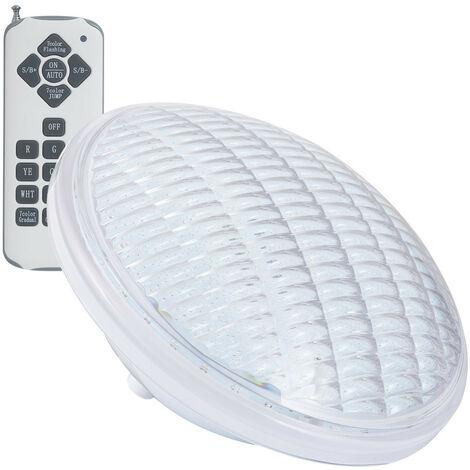 Ampoule LED Piscine Submersible PAR56 PC RGB IP68 12V AC 18W RGB avec télécommande - RGB avec télécommande