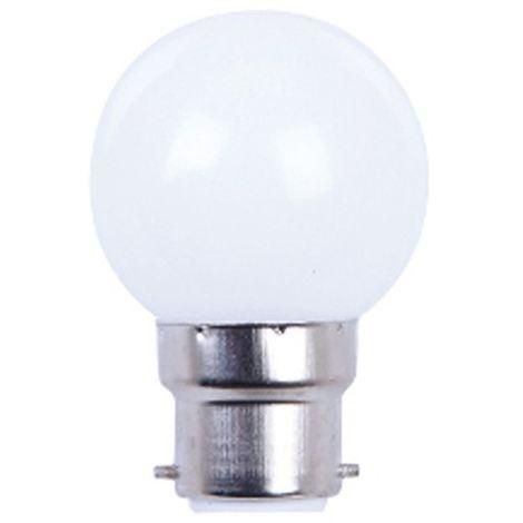 Ampoule LED pour guirlande type guinguette 1W G45 B22 Blanche - 2009 - Fox Light - -