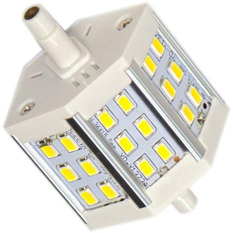 Ampoule LED R7S 78mm 6W 220V SMD5730 18LED 200