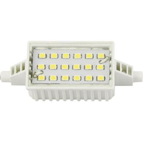 Ampoule LED R7s LightMe LM85124 6 W blanc chaud (Ø x L) 28 mm x 78 mm 1 pc(s)