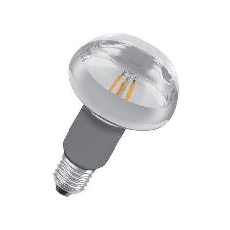 Ampoule led Réflecteur E27 R80 7 watt (eq. 46 watt) Retrofit OSRAM - Couleur - Blanc chaud 2700°K, Finition - Claire