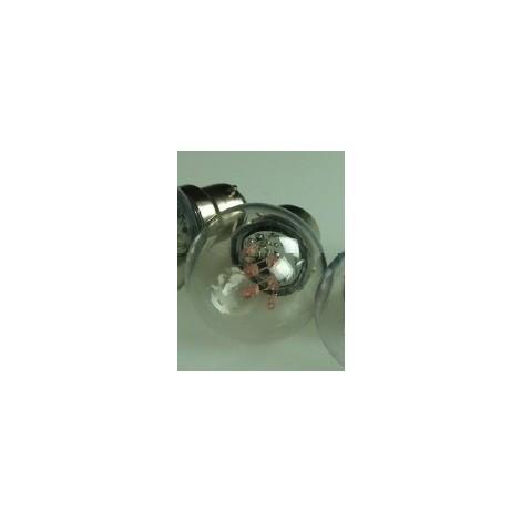 Ampoule Led rose 1.2W filament culot B22 230V usage extérieur sur guirlande à douille IPX4 (à l'unité) Blachere LDL18-B22