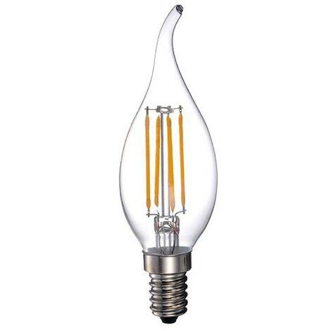 """main image of """"Ampoule LED-S19 Filament Flamme claire CA35 - E14 - 5W - 2 700K - 400Lm"""""""