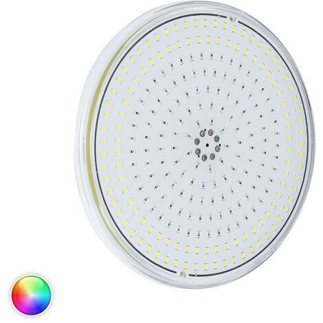 Ampoule LED Slim Piscine Submersible PAR56 RGBW IP68 12V DC 20W RGBW avec télécommande - RGBW avec télécommande