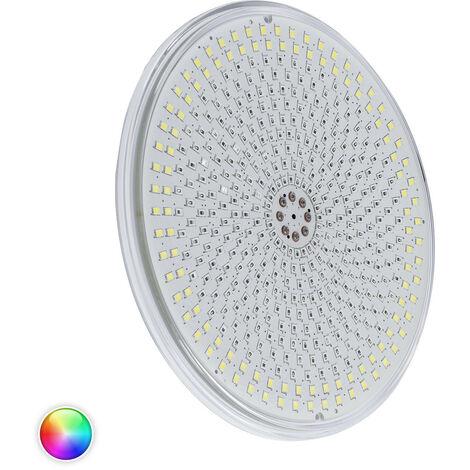 Ampoule LED Slim Piscine Submersible PAR56 RGBW IP68 12V DC 35W RGBW avec télécommande - RGBW avec télécommande
