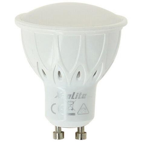 Ampoule LED Smart Lighting, culot GU10, 6,5W cons. (35W eq.), lumière blanc chaud