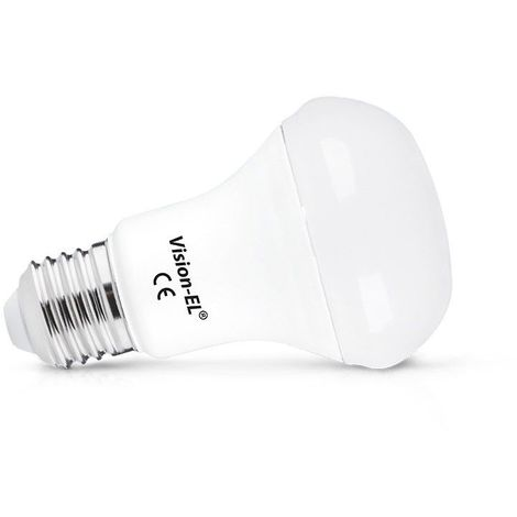 Ampoule Led SMD 7W (60W) E27 Blanc neutre 4000°K Spot dépoli