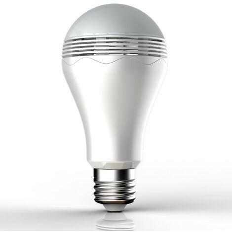 Ampoule LED SONOLUX, cuLot E27, 6,8W cons. (28W eq.), haut parleur bluetooth