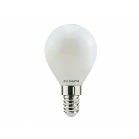 Ampoule led SPH E14 827 4,5W = 40W Sat fil SYLVANIA