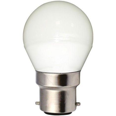 Ampoule LED Spherique (G45) 5W 400 lumens Blanc Neutre (4000K) - Transparente