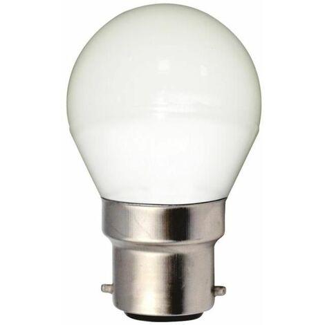 Ampoule LED Spherique (G45) 5W B22 Blanc Brillant 4000K