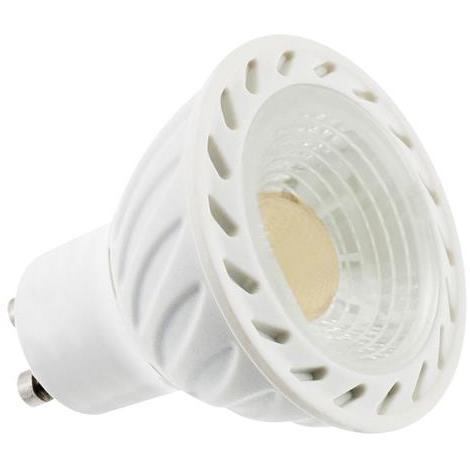 Ampoule LED spot 6W (Eq. 50W) GU10 3000K blanc chaud