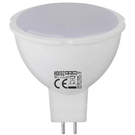 Ampoule LED spot 8W (Eq. 60W) GU5.3 6400K blanc froid