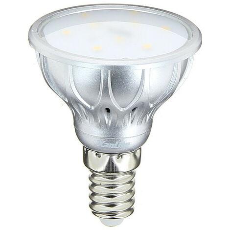 Ampoule LED spot, culot E14, 4,2W cons. (25W eq.), lumière blanc chaud | Xanlite