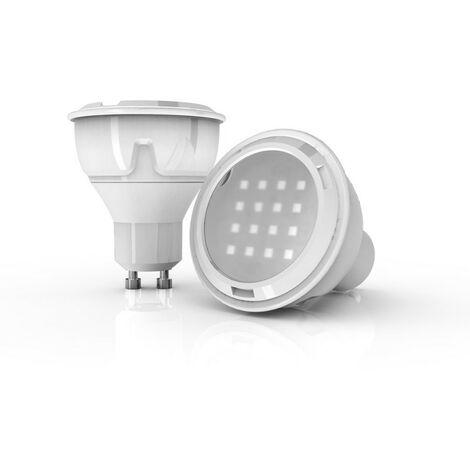 Ampoule LED spot, culot GU10, 3,6W cons. (280 lumens), lumière blanc chaud | Xanlite