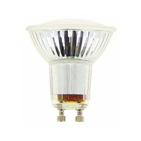 Ampoule LED spot, culot GU10, 5,6W cons. (50W eq.), lumière blanc chaud   Xanlite