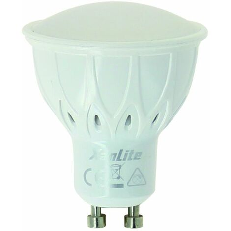 Ampoule LED spot, culot GU10, 5W cons. (50W eq.), intensité lumineuse automatique | Xanlite