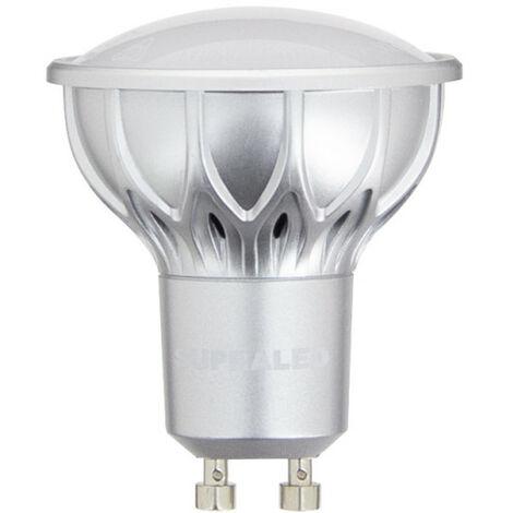 Ampoule LED (Spot), culot GU10, conso. 4,2W (eq. 25W), 280 lumens, blanc chaud | Xanlite