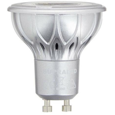 Ampoule LED (Spot), culot GU10, conso. 4,8W (eq. 35W), 230 lumens, blanc chaud | Xanlite