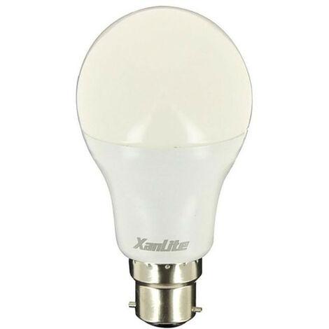 Ampoule LED standard, culot B22, 14,W cons. (100W eq.), lumière blanche neutre | Xanlite