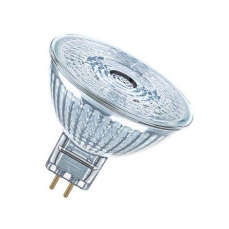 Ampoule LED star Dichroïque 4,6W (éq. 35W) 12v GU5,3 OSRAM - Couleur - Blanc chaud 2700°K