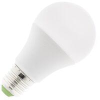 Ampoule LED Tª Couleur Sélectionnable E27 Dimmable A60 9W Sélectionnable (Chaud-Neutre-Froid)