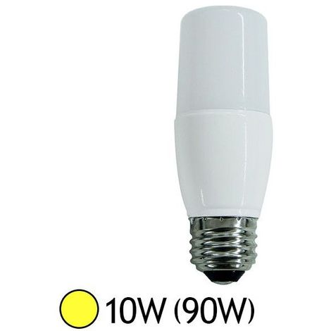 "main image of ""Ampoule Led Tube 10W (90W) E27 Blanc chaud 3000°K"""