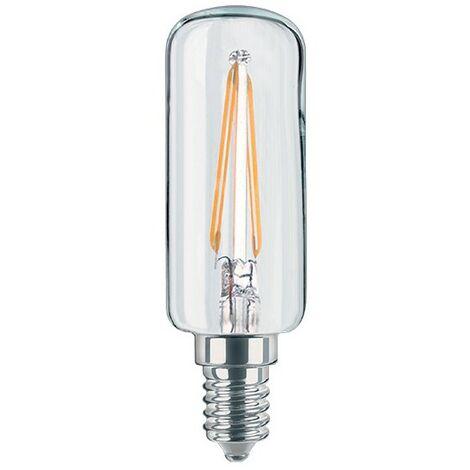 Ampoule LED tube Filament E14 750 lm blanc chaud diamètre etroit HOTTE - Transparent
