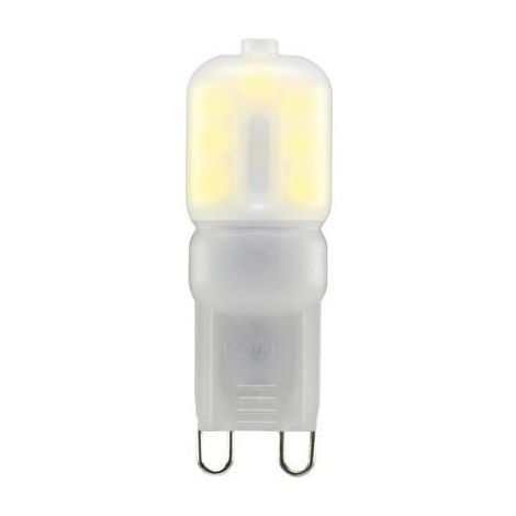 AMPOULE LED UNICOLORE SYGONIX TA60-1055WWL 230 V G9 2.5 W = 20 W BLANC CHAUD A+ À BROCHES 1 PC(S)