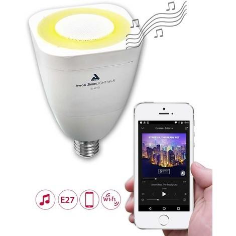 Sl Enceinte W10 Avec Ampoule Fi Wi Led AwoxBlanche E27 I9bE2YeWDH