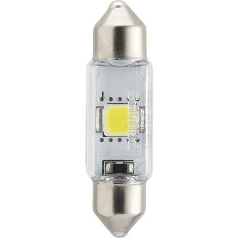 Ampoule navette LED Philips X-tremeUltinon C5W 38mm 6000K 12V 128596000KX1 SV8.5 Puissance: 1 W