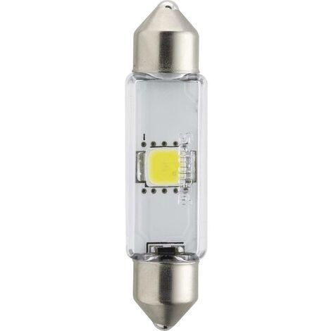 Ampoule navette LED Philips X-tremeUltinon C5W 43mm 6000K 24V 249466000KX1 SV8.5 Puissance: 1 W