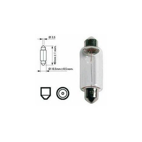 Ampoule navette SV 8,5 8/12V 18W - boîte de 10