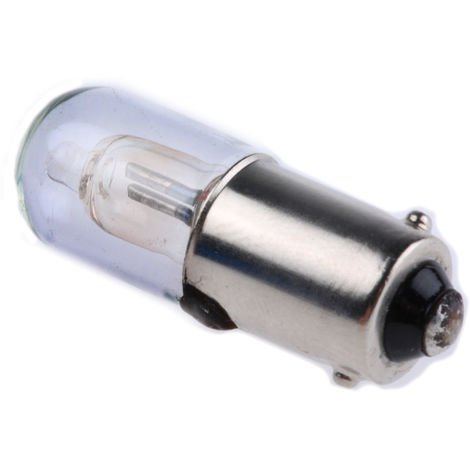 Ampoule néon pour voyant, lumière de couleur Rouge, taille T3 1/4, culot BA9s, 250 V