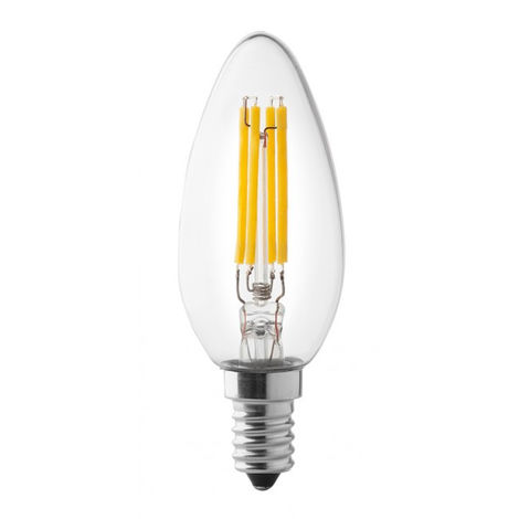 AmpouleOlive Led Wiva 12100587 E14 3000k 4w Dimmable 3Aj4L5R