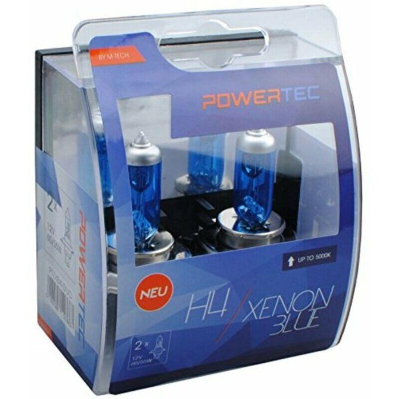 Ampoule pour voiture m-tech ptzxb4-duo h4 12v 60/55w azul xenón Rogal