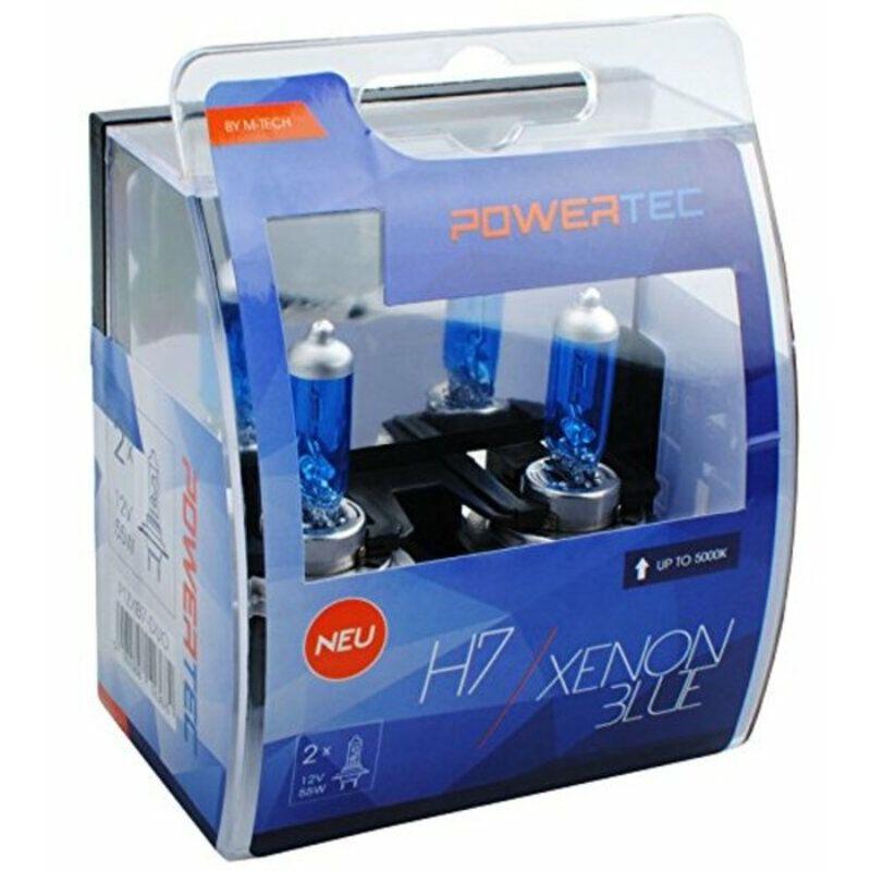 Ampoule pour voiture m-tech ptzxb7-duo h7 12v 55w 5000k xenón - Rogal