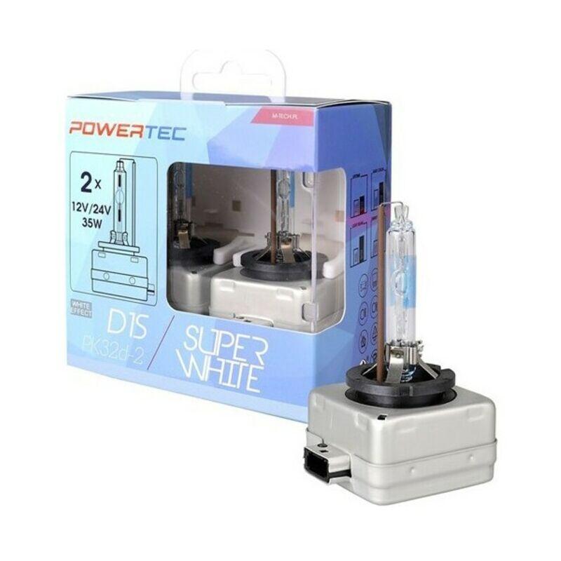 Ampoule pour voiture mtecptzswd1s-duo m-tech mtecptzswd1s-duo d1s 35w 12/24v (2 pièces) Rogal
