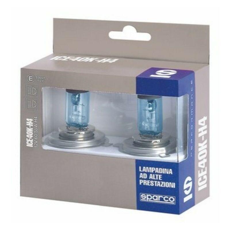 Ampoule pour voiture sparco ice40k h4 12v 55w blanco azulado efecto xenon Rogal