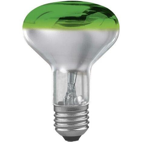 Ampoule R80 culot E27-60W-verte Osram X18967