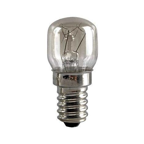 Ampoule spéciale pour four Culot E14 300° 15W 220-240V