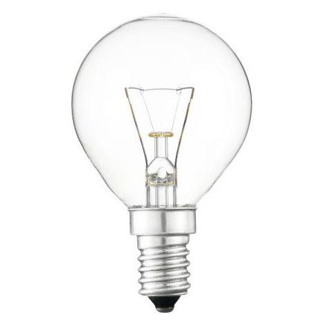 Ampoule Sphérique 40W - 48V - culot E14 - 005485 - Orbitec