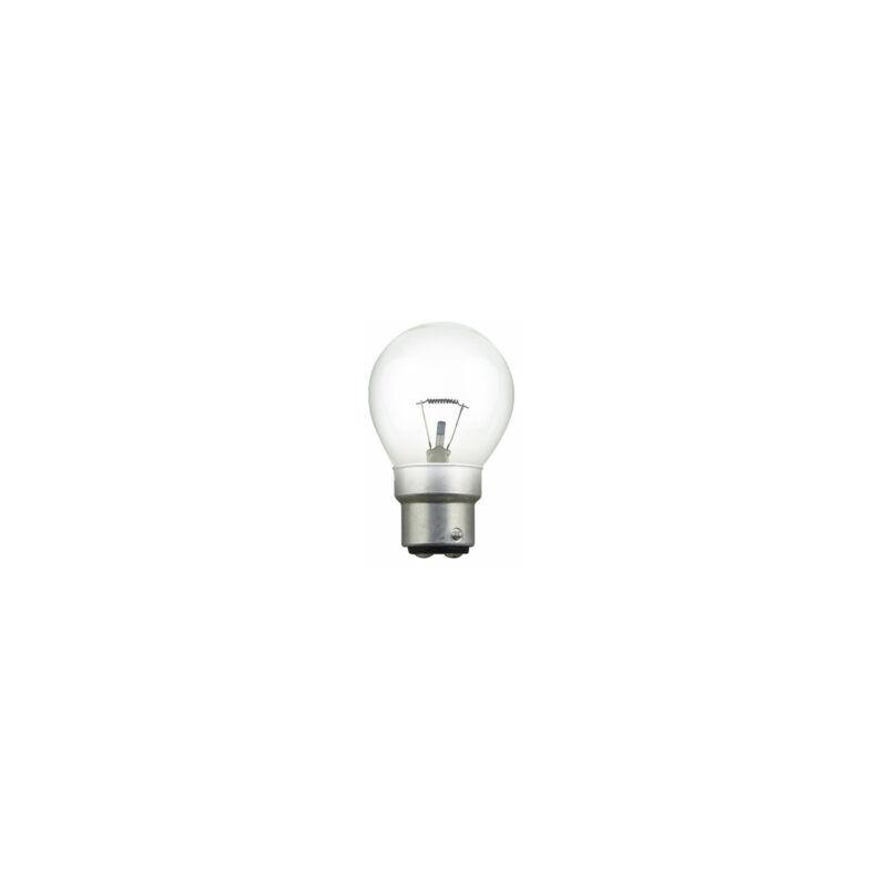 Ampoule Sphérique claire 60W 24V B22 - 124010 - Orbitec
