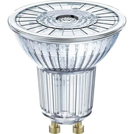 Ampoule Spot LED PAR16 GU10 3.1 W equivalent a 35 W blanc chaud dimmable